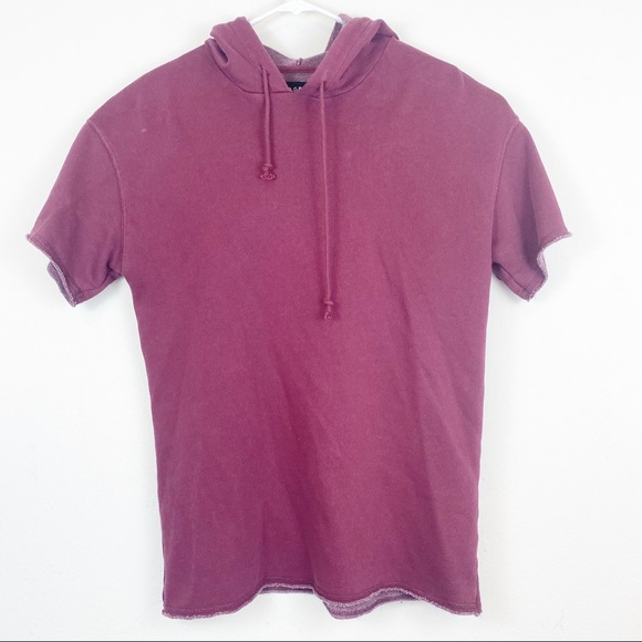 PacSun Other - PacSun Long Fit Short Sleeve Hoodie Size Small